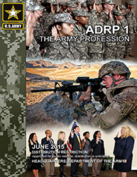 ADRP 1 – The Army Profession