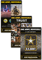 AAOP One Army, Indivisible Posters