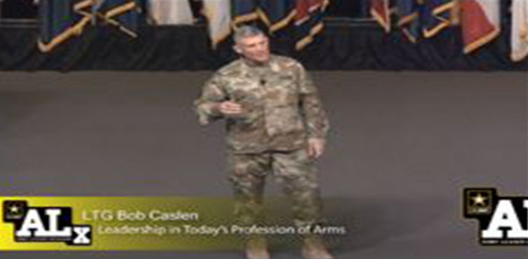Leadership Lessons from LTG Bob Caslen