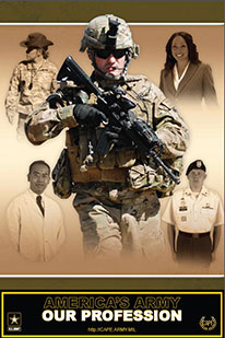 America's Army Our Profession Poster