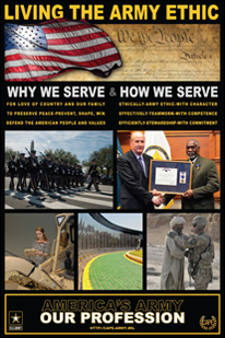 Living the Army Ethic - Why and How We Serve